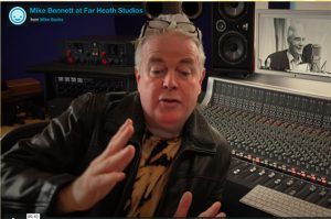MIKE BENNETT producer audiobook editing service